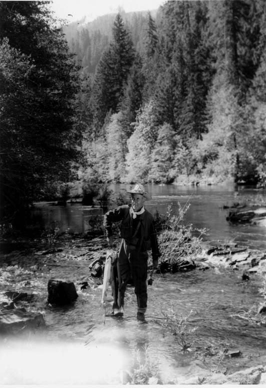 Zane Grey on the Rogue River